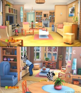 Parent's living-room