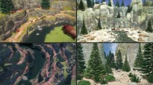 Tatonka montage paysages