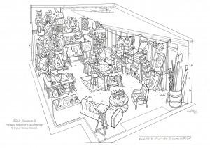 ZOU E's Mother's workshop-Guillaume Laigle