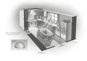 ZOU House kitchen-Guillaume Laigle