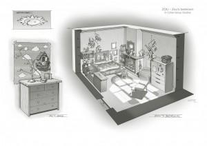 ZOU Zou's bedroom-Guillaume Laigle