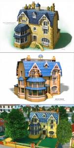 ZOU Zou's house montage