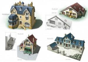 ZOU houses-color-Guillaume Laigle