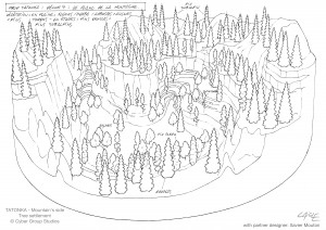mountain's side-trees-Guillaume Laigle